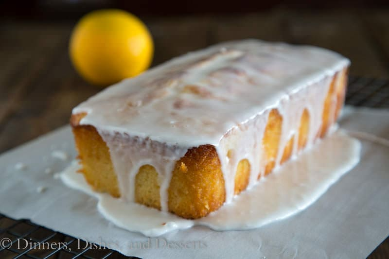 Grapefruit Yogurt Cake w/ a Grapefruit Glaze from Dinners, Dishes, and Desserts