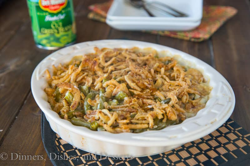 Green Bean Casserole {Dinners, Dishes, and Desserts}