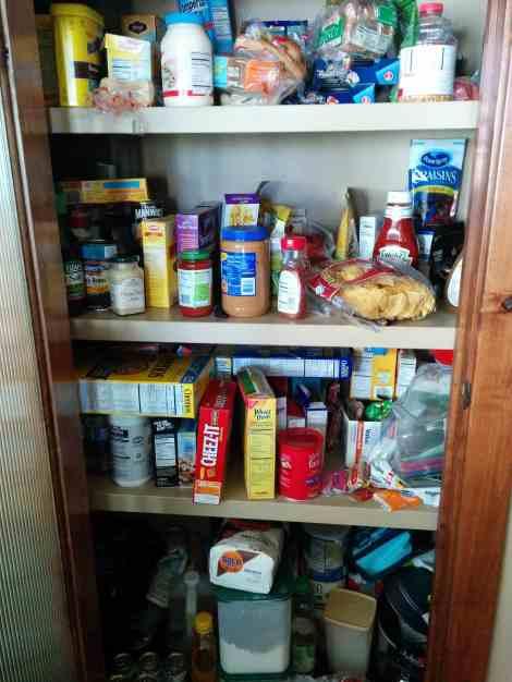 Pantry before Organization