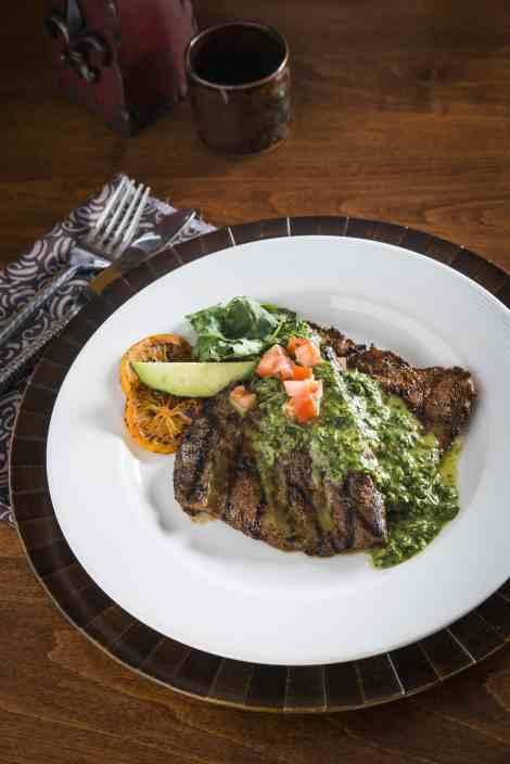 Flat Iron Steak with Chimichurri Sauce - a great way to enjoy steak!