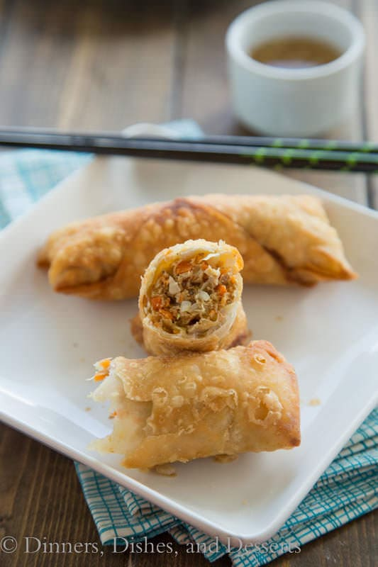Vietnamese Egg rolls - not your average egg roll, these have a slight twist on the classic Vietnamese style egg roll.
