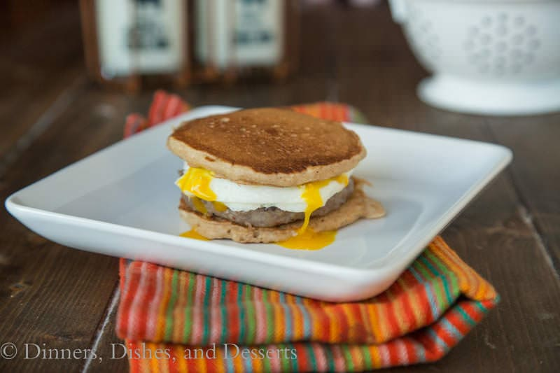 Pancake Breakfast Sandwiches