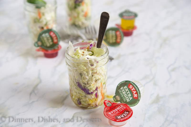 Mexican Coleslaw {Dinners, Dishes, and Desserts}