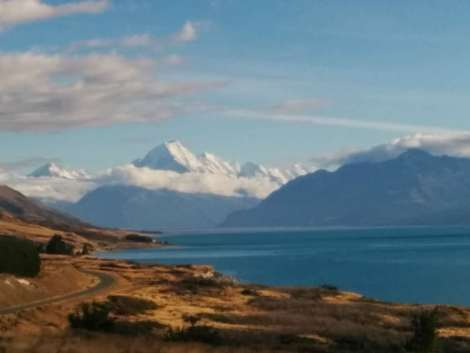 Drive to Mt Cook