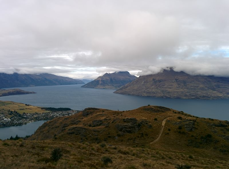 Queenstown Hill Walkway - a 5 km hike for a view of the lake and Queenstown.