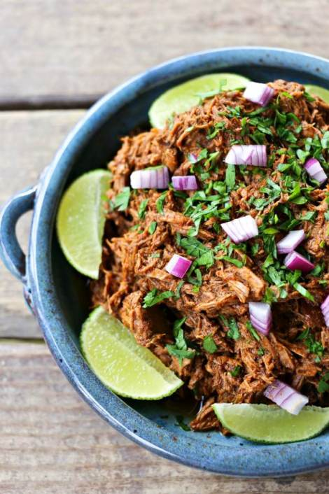 Slow-Cooker Copycat Chipotle Barbacoa {Foodie with Family}