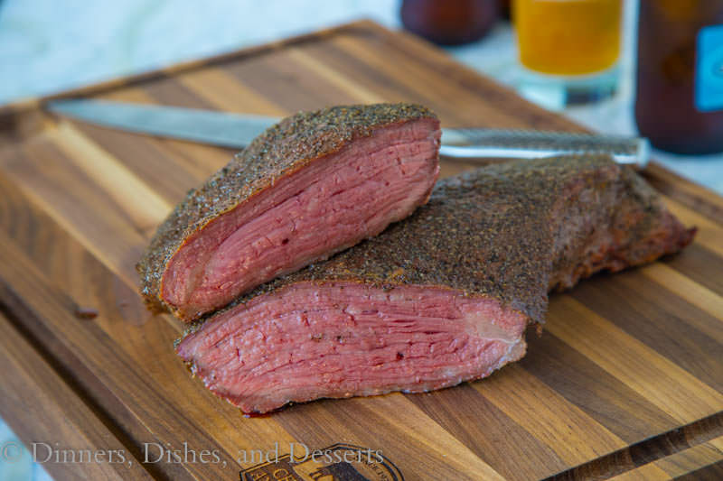 Smoked Tri-Tip {Dinners, Dishes, and Desserts}
