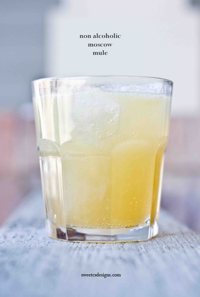 Non -Alcoholic Mosxow Mules {Dinners, Dishes, and Desserts}