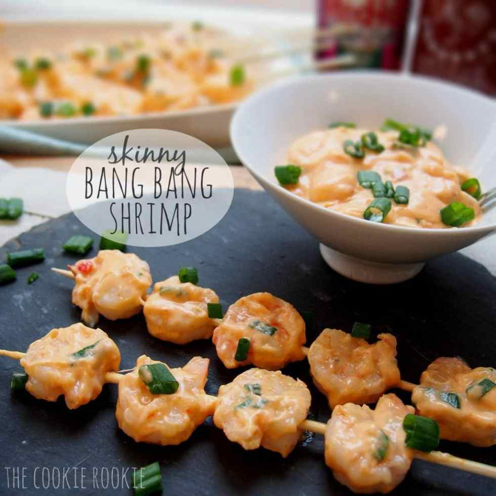 Skinny Bang Bang Shrimp {The Cookie Rookie}