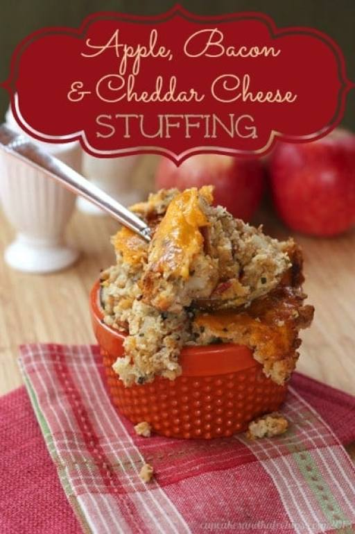 Apple Bacon & Cheddar Cheese Stuffing