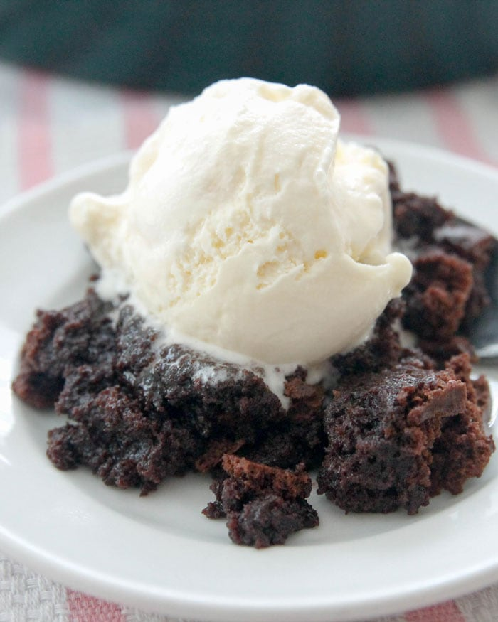 Chocolate Brownie Pudding {Chocoalte, Chocolate, and More}