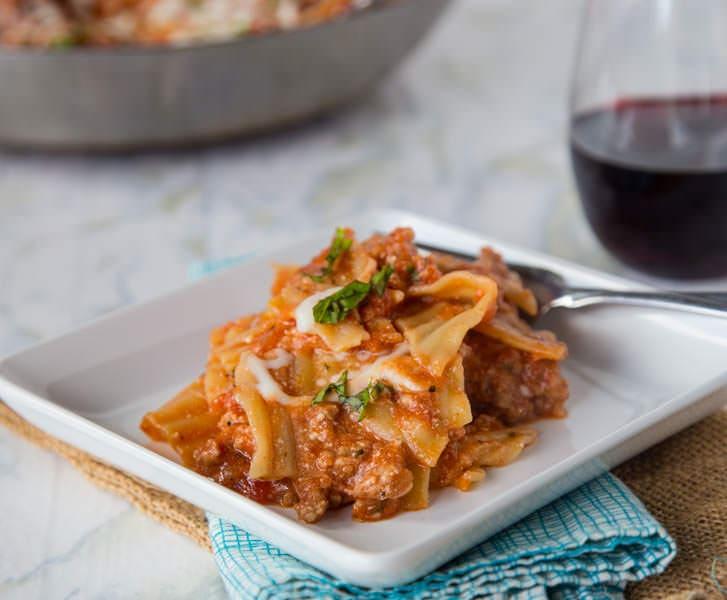 Easy Weeknight Lasagna