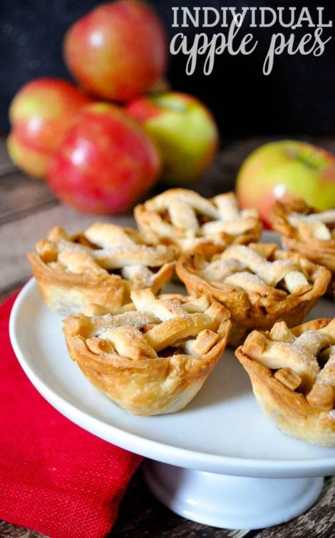 Individual Apple Pies