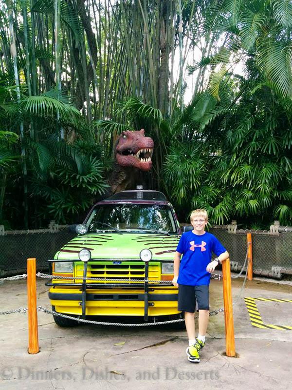 Universal Studios Orlando - Jurassic Park