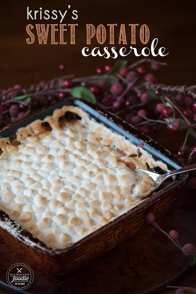 Krissy's Sweet Potato Casserole