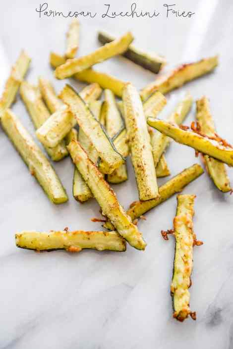 Parmesan Garlic Zucchini Fries {Sweet C's Designs}