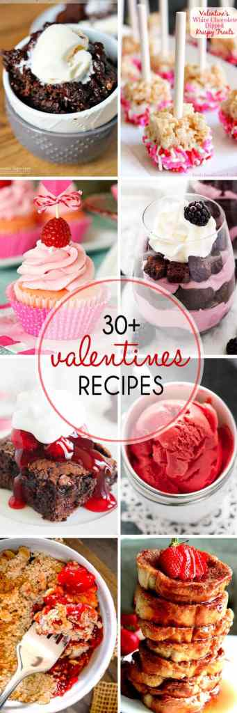 Over 30 Valentine's Day Desserts to get you ready for Valentine's Day.  Everything from cakes, to cookies, to frozen treats. Perfect way to your Valentine's heart!