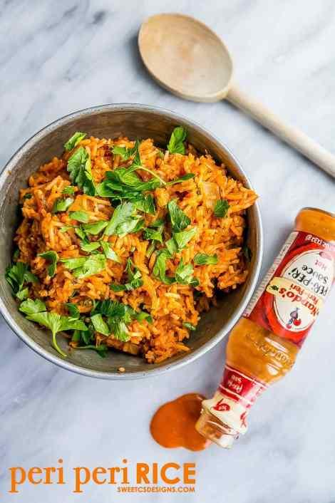 One Pot Spicy Nandos Rice {Sweet C's Designs}