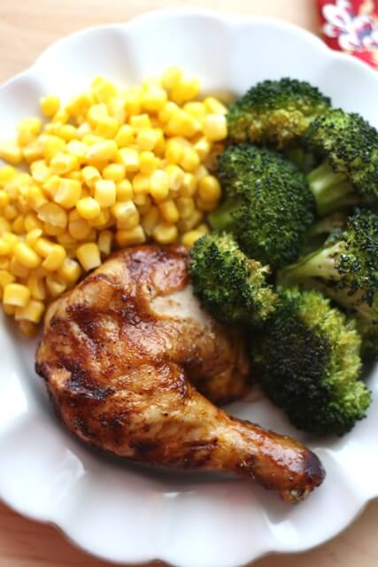 Brown Sugar and Spice Baked Chicken {Barefeet in the Kitchen}