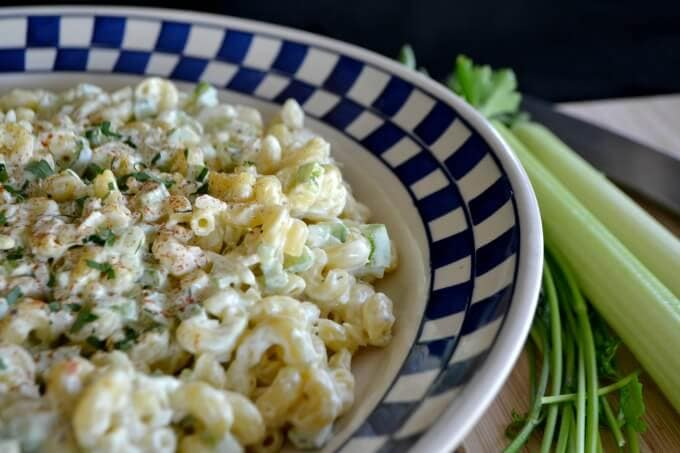Basic Macaroni Salad {365 Day of Baking and More}
