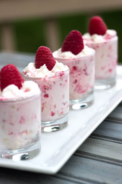 Raspberry Shooters {White Lights on Wednesday}