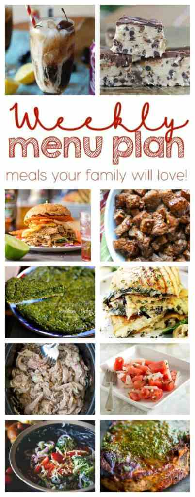 Weekly Meal Plan Week 48 – 10 great bloggers bringing you a full week of recipes including dinner, sides dishes, and desserts!