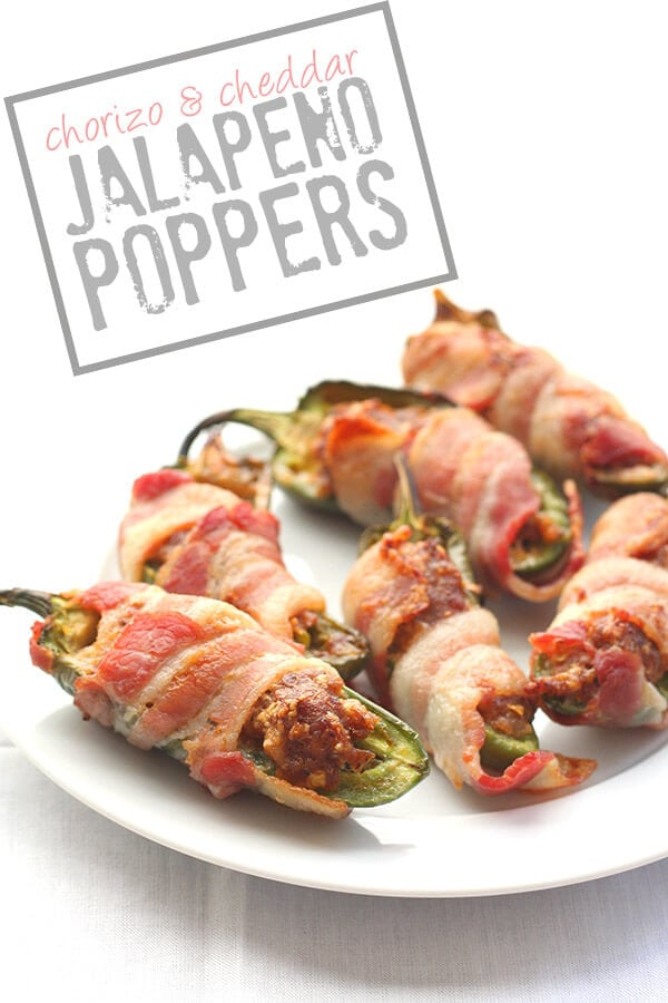 Chorizo and Cheddar Jalapeno Poppers {All Day I Dream About Food}