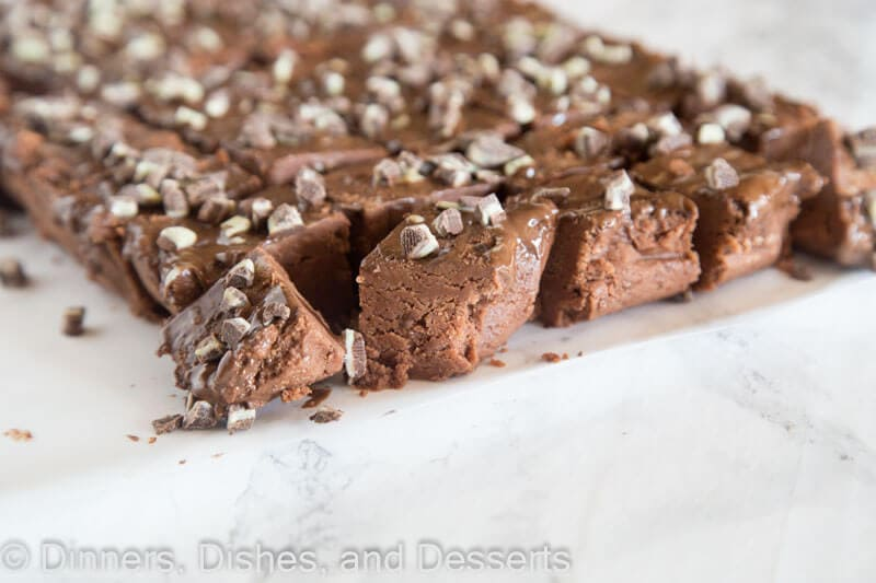 Easy Microwave Fudge - creamy fudge is always a hit around the holidays. Make it in the microwave in 15 minutes with this fool-proof, stress free recipe.