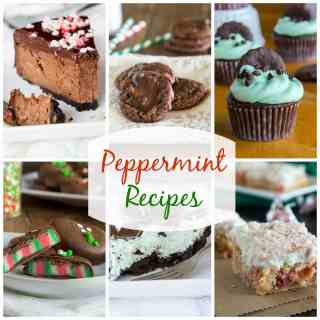Peppermint Recipes - 19 fun and festive peppermint recipes that are perfect to make this holiday season.