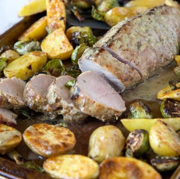 Sheet Pan Pork Tenderloin