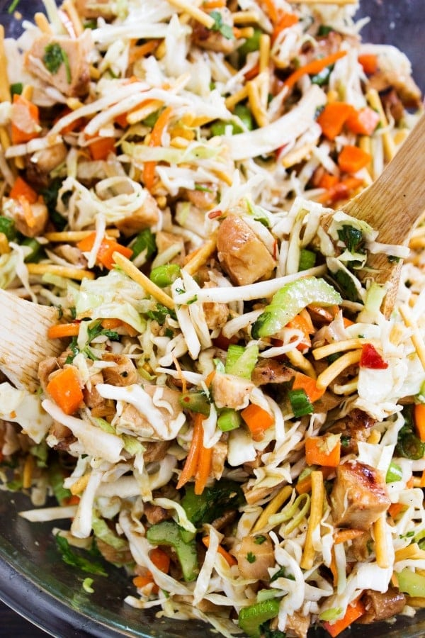 Chopped Asian Salad {A Dash of Sanity}