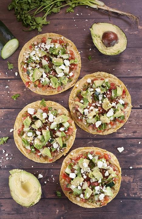 http://wishesndishes.com/pine-nut-hummus-pico-de-gallo-tostadas/