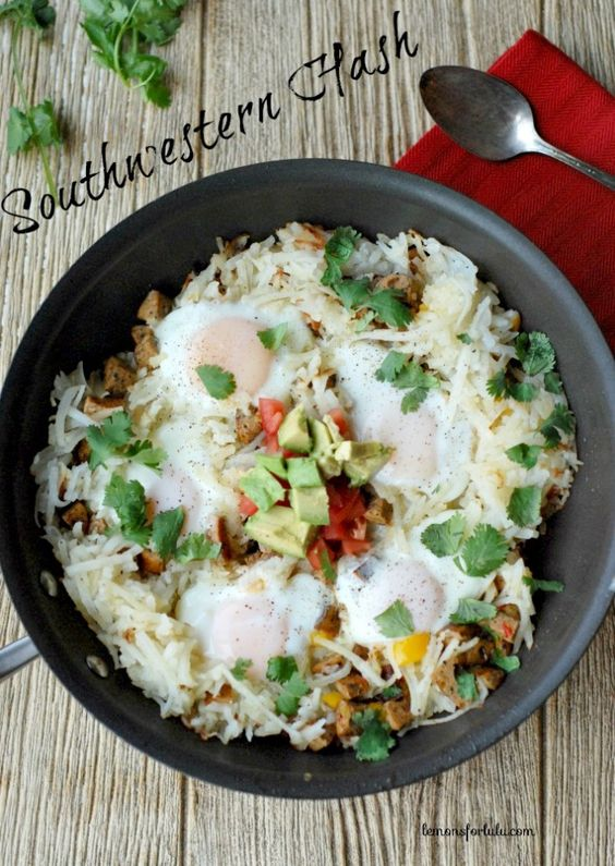 Southwestern Potato Hash {Lemons for Lulu}