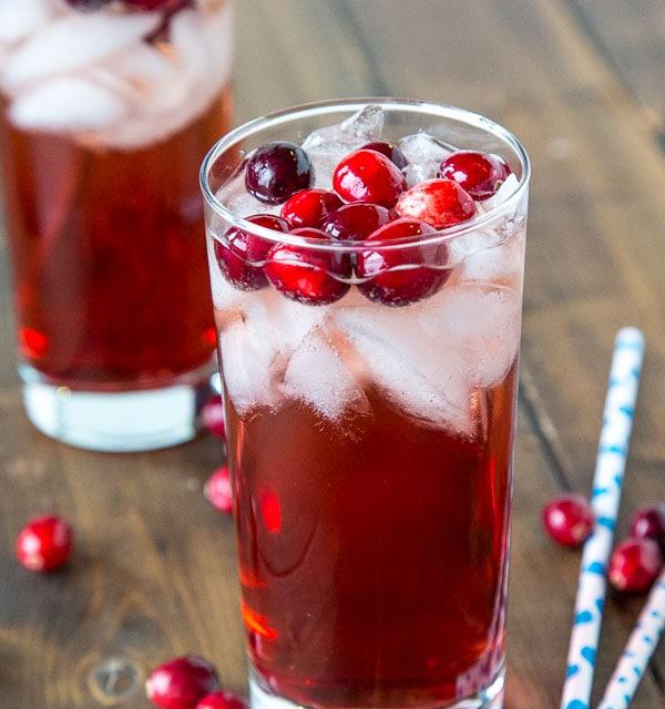 Holiday Wine Spritzer