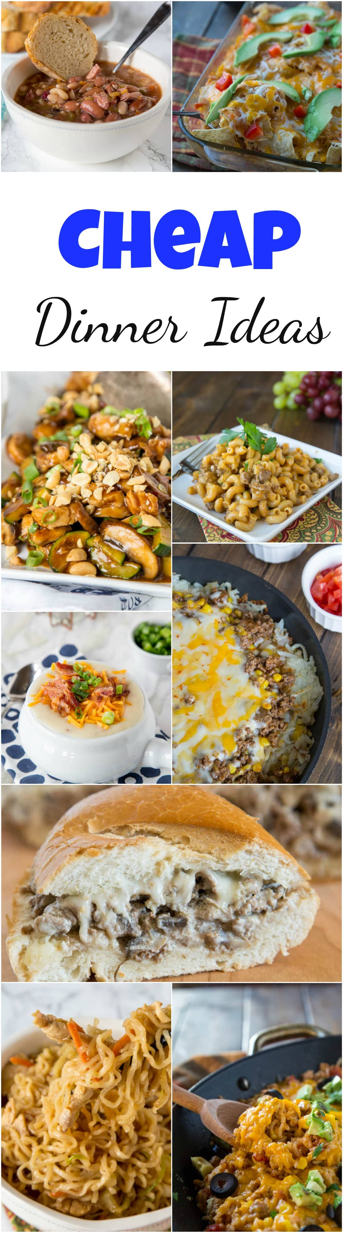 Cheap Dinner Ideas , Dinners, Dishes, and Desserts