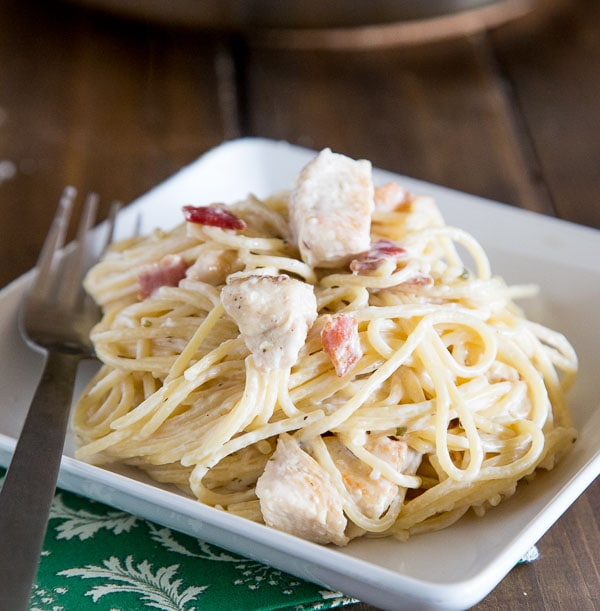 Creamy Chicken Pasta Recipe