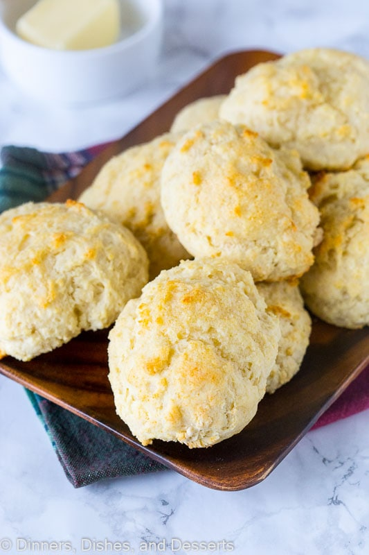Easy Biscuit Recipe - these are the perfect homemade biscuits. Light, fluffy, tender, buttery, and delicious. Make in minutes any night of the week.
