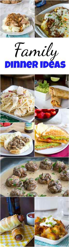 Family Dinner Ideas - Dinners, Dishes, and Desserts