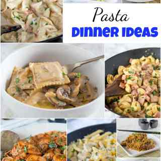 Pasta Dinner Ideas - Craving pasta?  Here are 25 of my favorite pasta dinner ideas that are more than just spaghetti and meatballs.  Branch out and cure that pasta craving with any of these great dinner ideas!