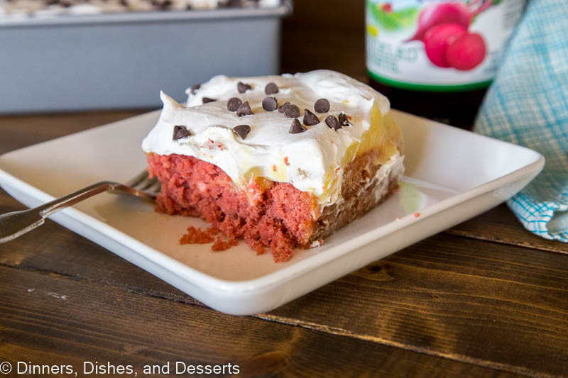 Red Velvet Poke Cake - Dinners, Dishes, and Desserts