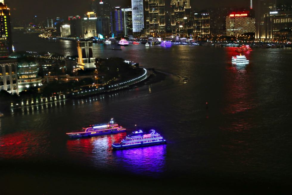 10 Things to do in Shanghai - Headed to China? Wonder what to do in Shanghai? Here are our 10 favorite things to do in Shanghai. Nighttime cruise