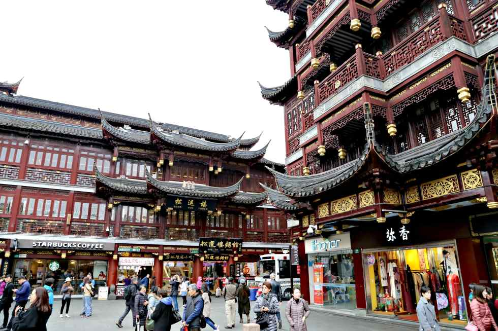 10 Things to do in Shanghai - Headed to China?  Wonder what to do in Shanghai?  Here are our 10 favorite things to do in Shanghai. Yu Garden Bizzare