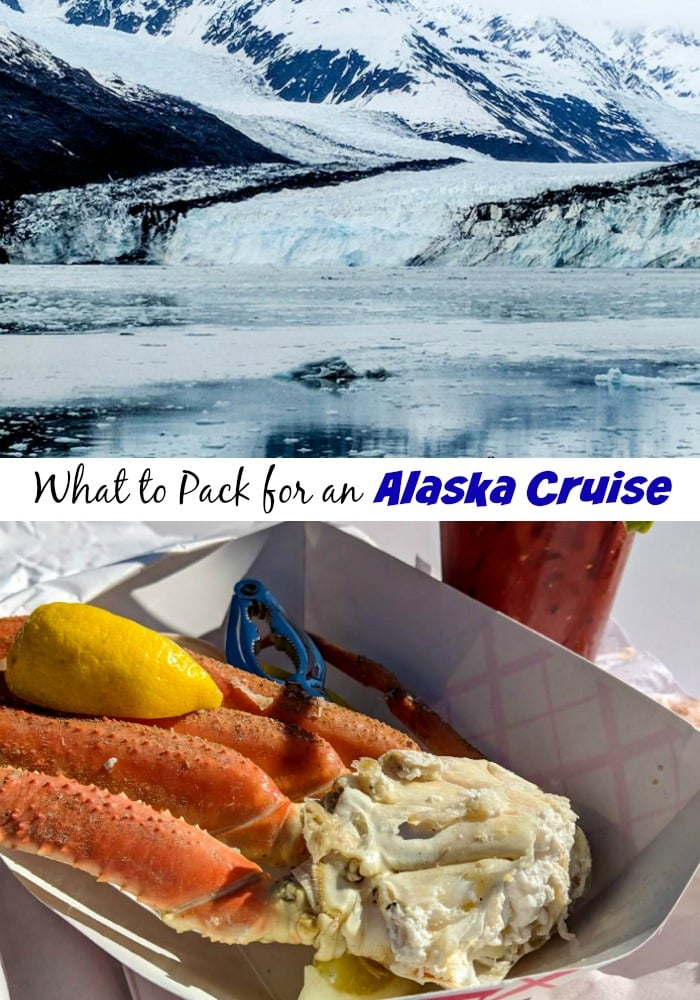 scenes from alaska - mountain and crab legs