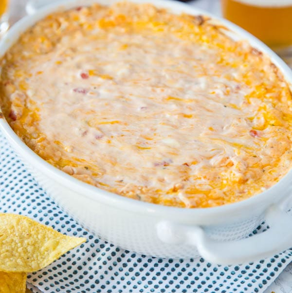 Baked Mexican Cheese Dip