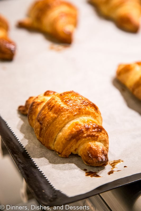 Homemade Croissants - buttery, flakey, and delicious croissants you can make at home!