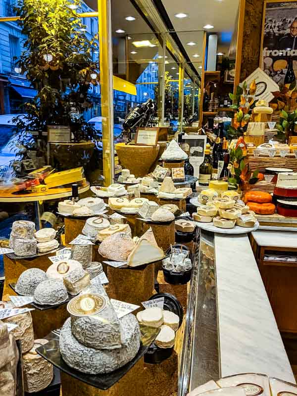 Where to Eat in Paris - Planning a trip to Paris and wondering where to eat?  Here are some of our favorites from out trip! Marie Anne Cantin Cheese Shop