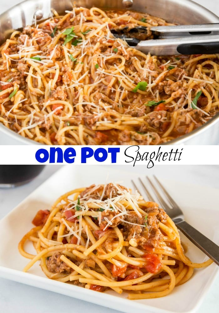 A dish is filled with spaghetti