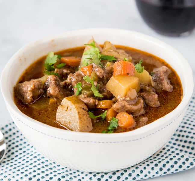 Instant Pot Beef Stew 3 square
