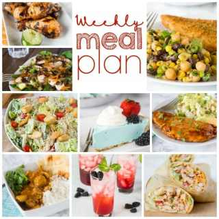 meal plan square collage