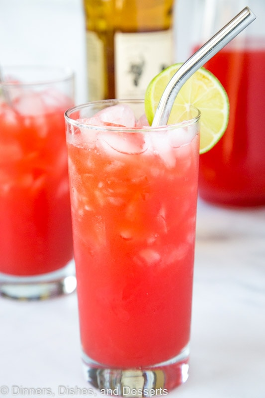 Caribbean Rum Punch that is great for get together and summer parties!
